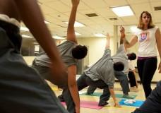 UpRising Yoga in Juvenile Detention Center