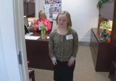 Senate Page Shares Story in Hopes of Inspiring Others