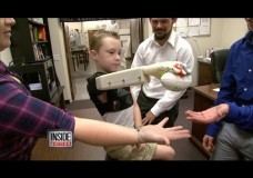 Six Year Old Gets New Arm Thanks To 3D Printing