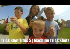Trick Shot Titus 5 | Machine Trick Shots