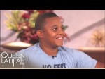Paralympian Blake Leeper Surprises His Biggest Fan on the Queen Latifah Show